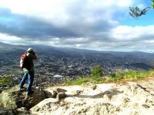 Pajareando en Tegucigalpa.