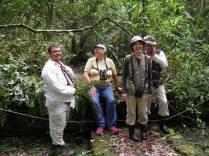 Miembros del club Los Zorzales
