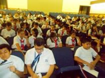 Alumnos de 7mo. y 8vo. año del CCS